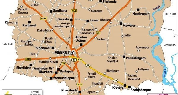 Meerut - Indian state of Uttar Pradesh