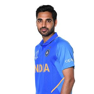 Cricketer Bhuvneshwar Kumar